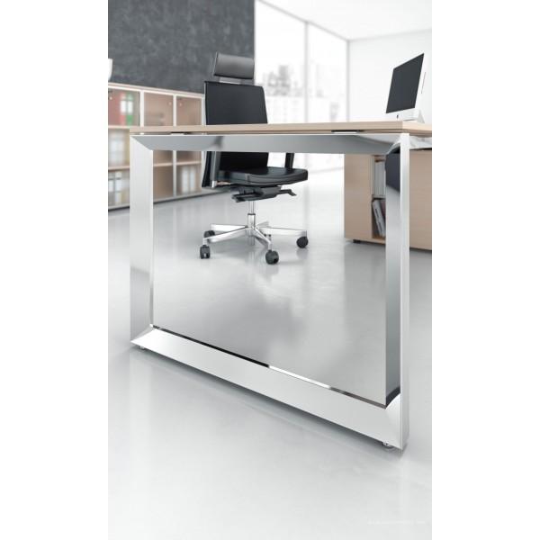 bureau direction 5th el ment finition bois clair fabricant las. Black Bedroom Furniture Sets. Home Design Ideas