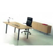 Bureaux de direction en bois amm mobilier - Bureau chene blanchi ...