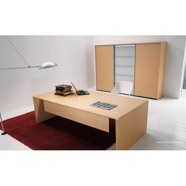 bureau de direction eracle finition ch ne clair par alea. Black Bedroom Furniture Sets. Home Design Ideas