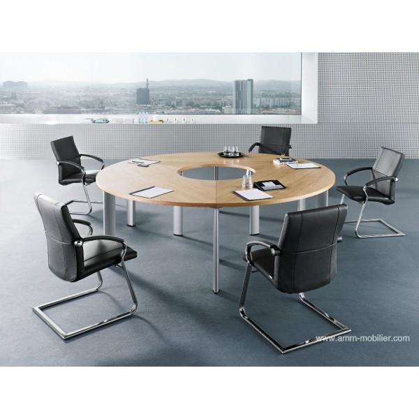 Table de r union ronde cx 3200 par bn office solution - Grande table de reunion ...