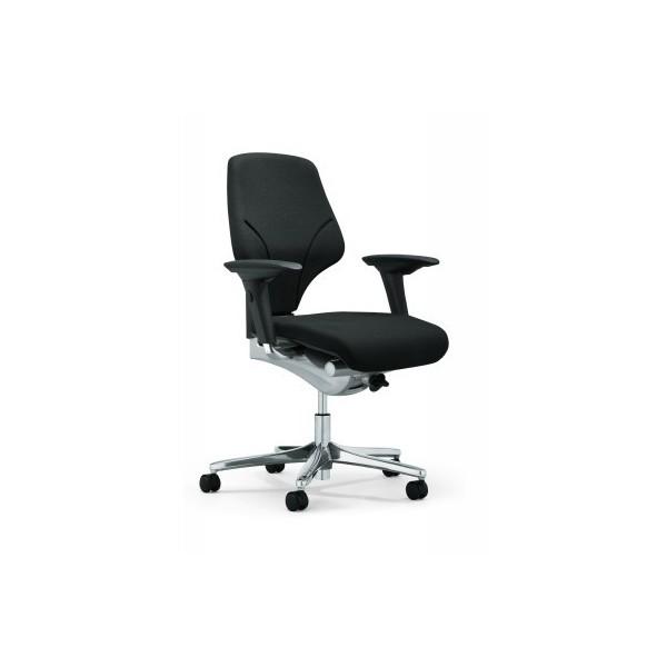 si ge de bureau ergonomique giroflex 64 avec accoudoirs. Black Bedroom Furniture Sets. Home Design Ideas