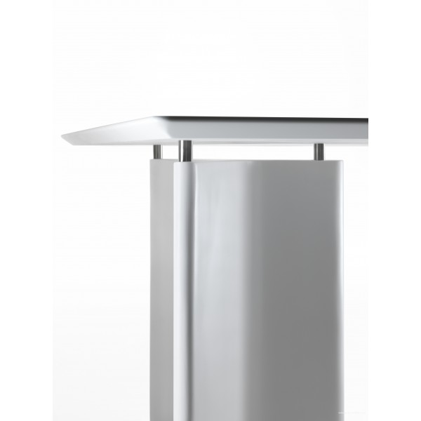 Table de r union tee rectangulaire par segis for Mobilier bureau 974