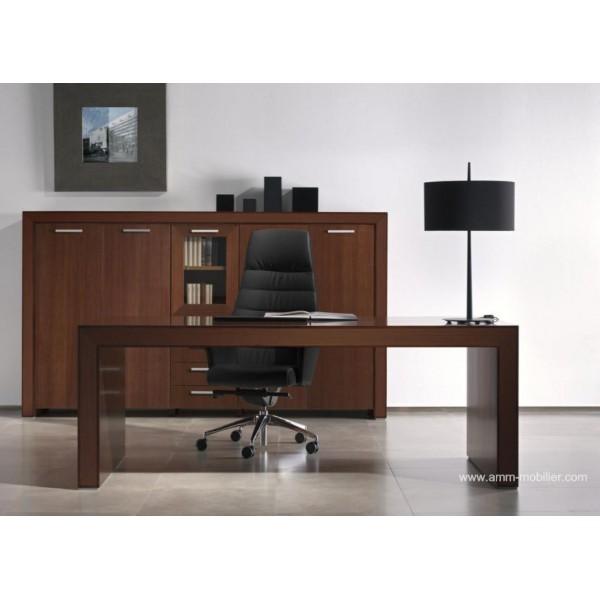 bureau de direction belesa finition weng par ofifran. Black Bedroom Furniture Sets. Home Design Ideas
